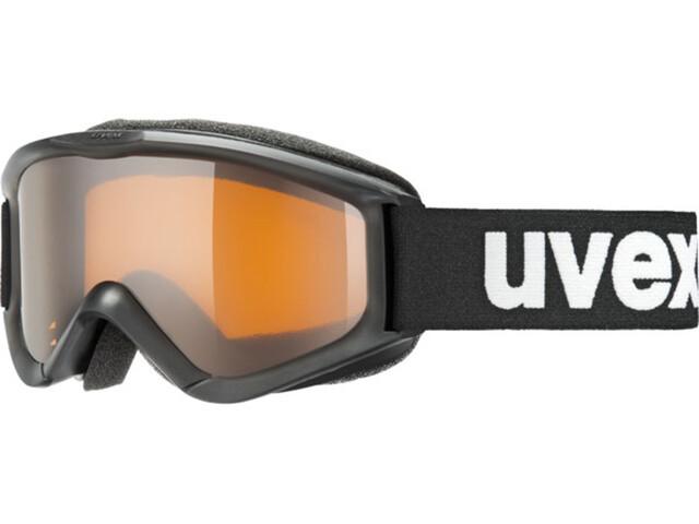 UVEX speedy pro Maschera Bambino, black SL/LG